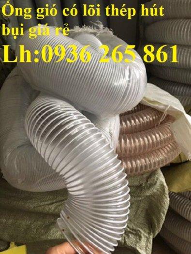 Giá ống nhựa Pu lò xo lõi đồng phi200 dùng cho quạt hút bụi công nghiệp12