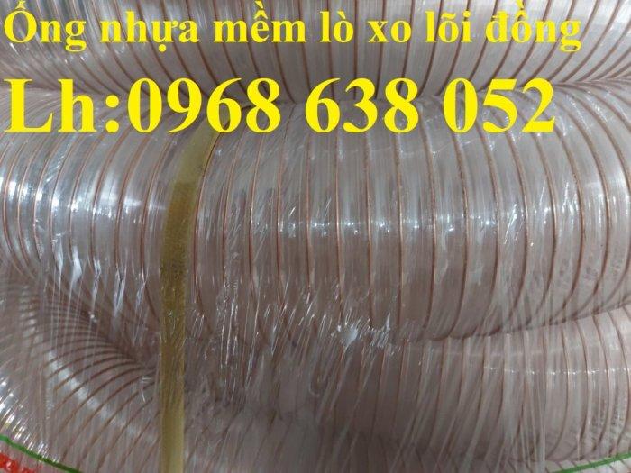 Giá ống nhựa Pu lò xo lõi đồng phi200 dùng cho quạt hút bụi công nghiệp11