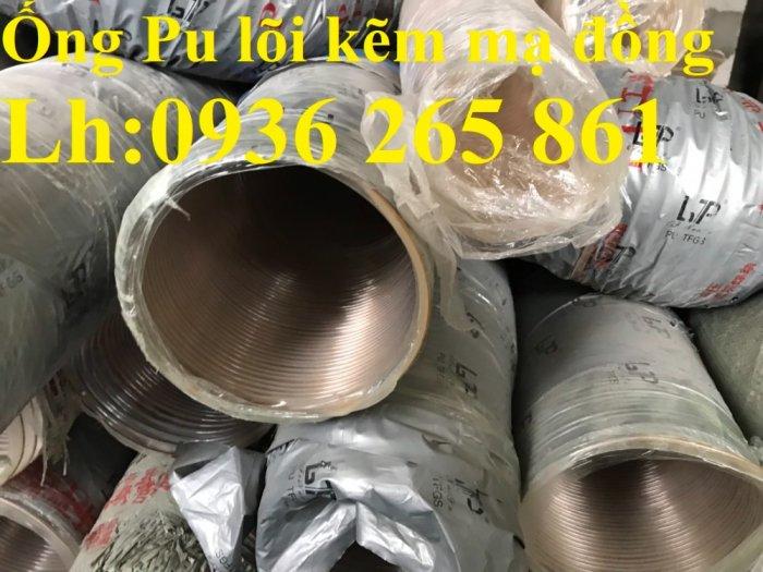 Giá ống nhựa Pu lò xo lõi đồng phi200 dùng cho quạt hút bụi công nghiệp9