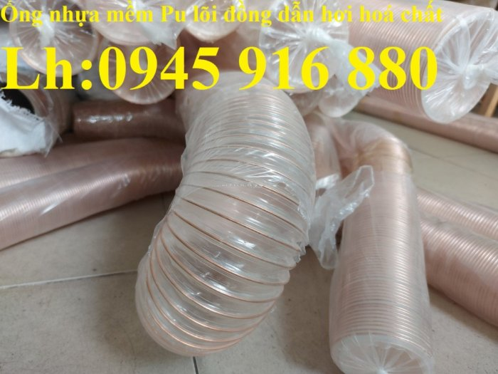 Giá ống nhựa Pu lò xo lõi đồng phi200 dùng cho quạt hút bụi công nghiệp8