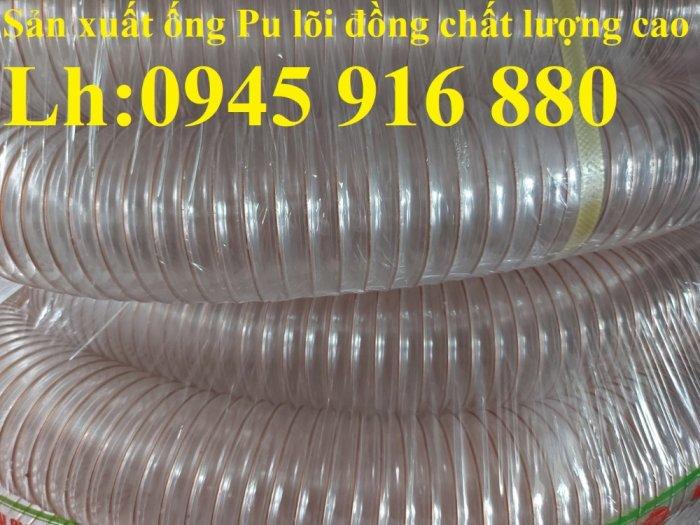 Giá ống nhựa Pu lò xo lõi đồng phi200 dùng cho quạt hút bụi công nghiệp6