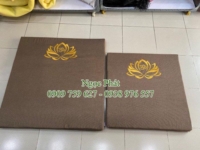Nệm Ngồi 70x70cm Tọa Cụ Quỳ Lạy - Nệm Ngồi Thiền Định Yoga Ấn Độ8