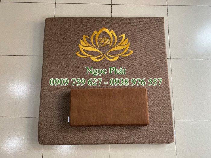 Nệm Ngồi 70x70cm Tọa Cụ Quỳ Lạy - Nệm Ngồi Thiền Định Yoga Ấn Độ6
