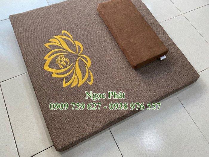 Nệm Ngồi 70x70cm Tọa Cụ Quỳ Lạy - Nệm Ngồi Thiền Định Yoga Ấn Độ4