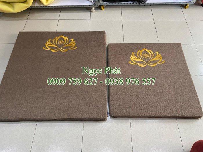Đệm Ngồi 70x70cm Lễ Phật Cúng Dường - Tọa Cụ - Bồ Đoàn - Cao Cấp8