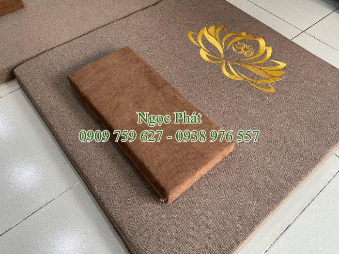 Đệm Ngồi 70x70cm Lễ Phật Cúng Dường - Tọa Cụ - Bồ Đoàn - Cao Cấp3