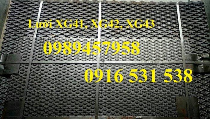 Lưới dập giãn 3ly khổ 30x60, Lưới thép hình thoi 4ly, 5ly, Lưới dập giãn mạ kẽm nhúng nóng6