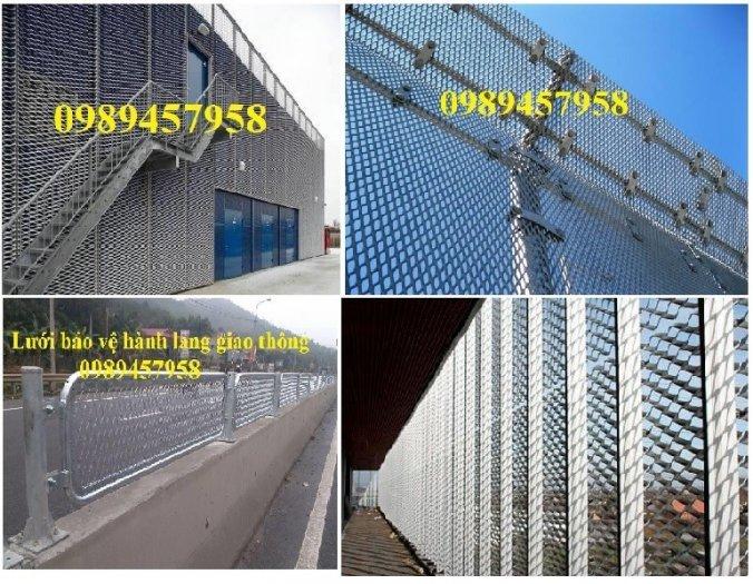 Lưới dập giãn 3ly khổ 30x60, Lưới thép hình thoi 4ly, 5ly, Lưới dập giãn mạ kẽm nhúng nóng1