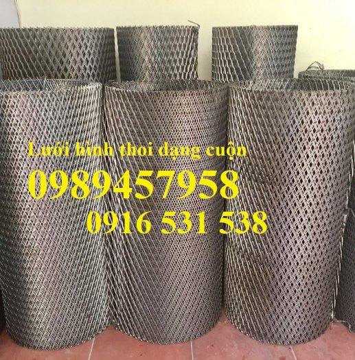 Lưới dập giãn 3ly khổ 30x60, Lưới thép hình thoi 4ly, 5ly, Lưới dập giãn mạ kẽm nhúng nóng0