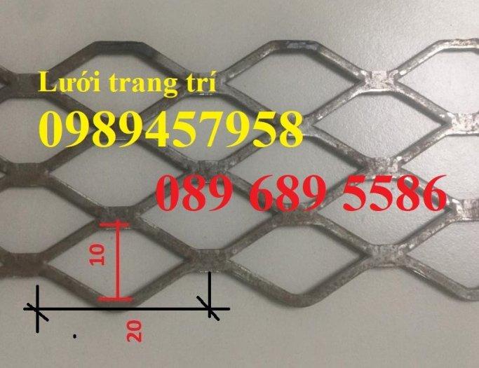 Lưới hình thoi, lưới trang trí, lưới dập giãn XG18, XG19, XG20, XG21, XG41, XG425