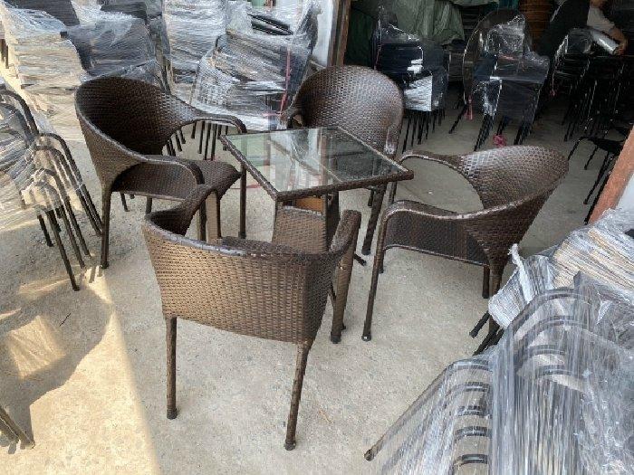 Bàn ghế cafe giá sỉ tại xưởng sản xuất a2