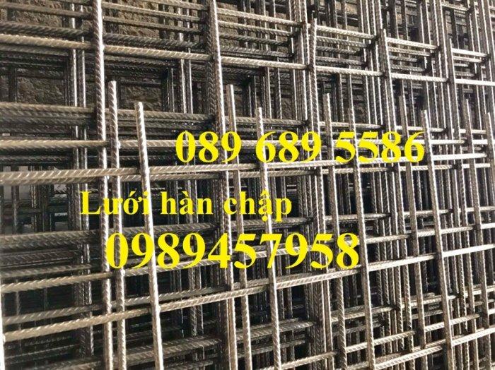 Lưới thép đổ sàn chống nóng phi 4 ô 150x150, 200x200 - Lưới thép phi 5 ô 200x2002