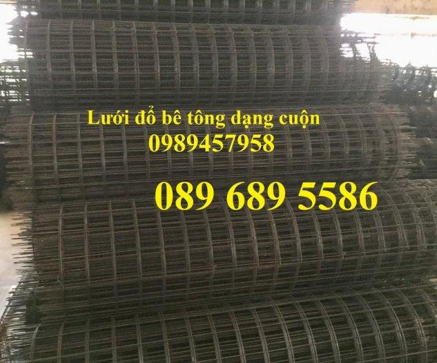 Lưới thép làm giàn phong lan, Lưới thép Phi3 ô 50x50, Lưới phi 4 ô 50x50 dạng cuộn6