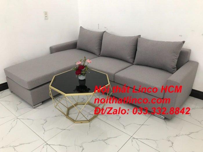 Sofa góc Tphcm | Bộ ghế sofa góc L xám trắng giá rẻ | Nội thất Linco HCM Sài Gòn Tphcm SG Hồ Chí Minh7