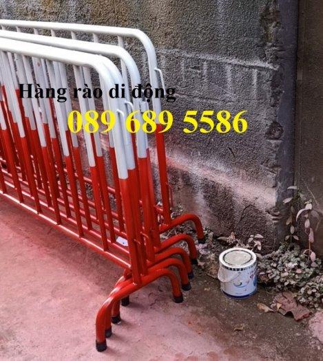 Hàng rào barie khu chung cư, Hàng rào di động phân luồng giao thông2