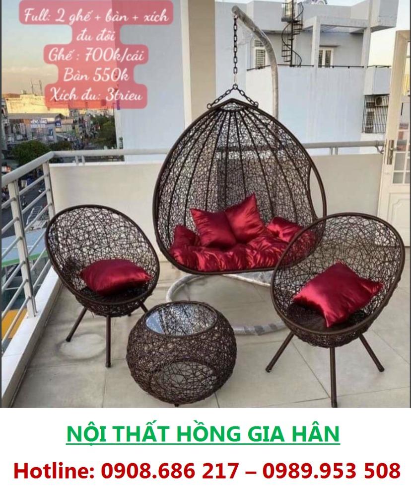 Xích Đu Thư Giãn_ Bancon, Sân Vườn, Phòng Khách0