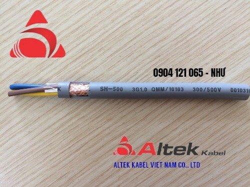 Cáp điều khiển SH-500 SH 10106 6 x 1.0mm Altek Kabel2