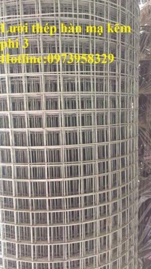 Lưới thép hàn mạ điện phân phi 2.5 ( 35 *35) , phi 3 ( 50*50) phân phối toàn quốc23