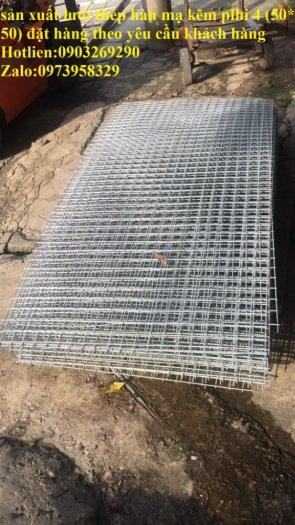 Lưới thép hàn mạ điện phân phi 2.5 ( 35 *35) , phi 3 ( 50*50) phân phối toàn quốc16