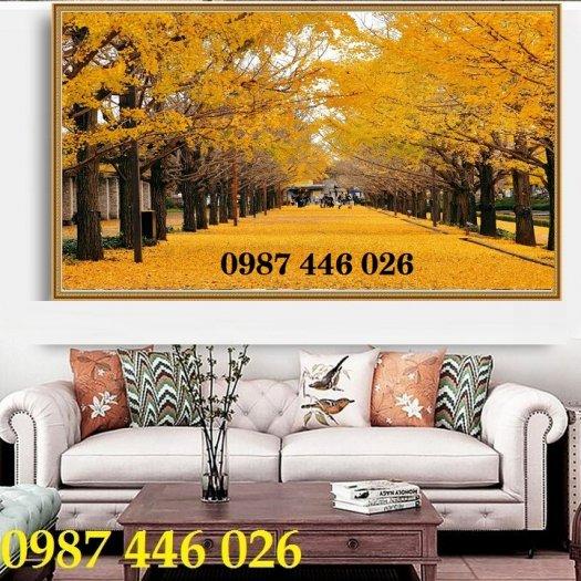 Gạch tranh, gạch ốp tường, tranh trang trí phòng khách đẹp HP0317