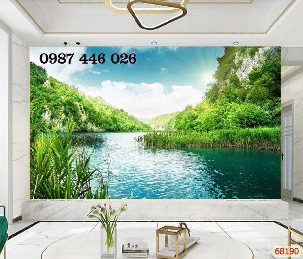 Gạch tranh, gạch ốp tường, tranh trang trí phòng khách đẹp HP0314