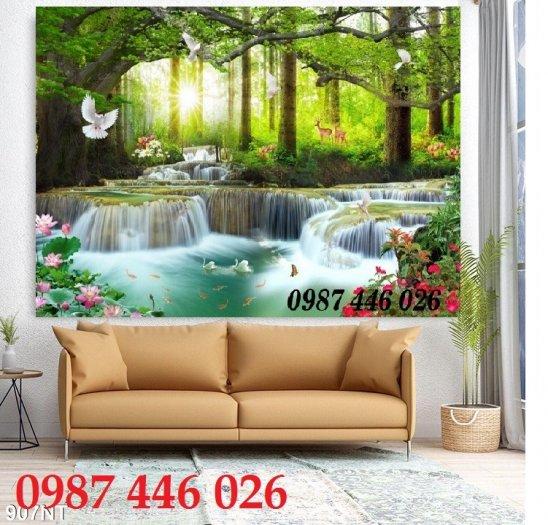 Gạch tranh, gạch ốp tường, tranh trang trí phòng khách đẹp HP0310