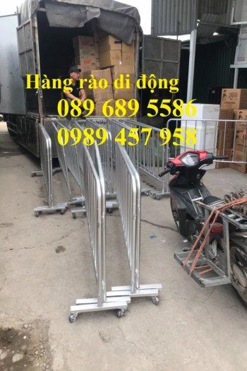 Sản xuất hàng rào di động - hàng rào chắn an ninh - Rào chắn cây xăng11