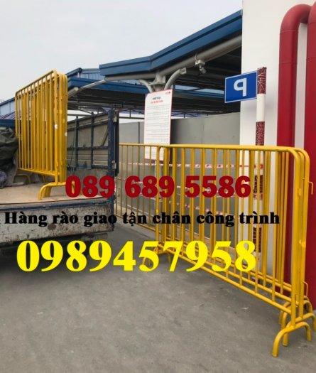 Sản xuất hàng rào di động - hàng rào chắn an ninh - Rào chắn cây xăng8