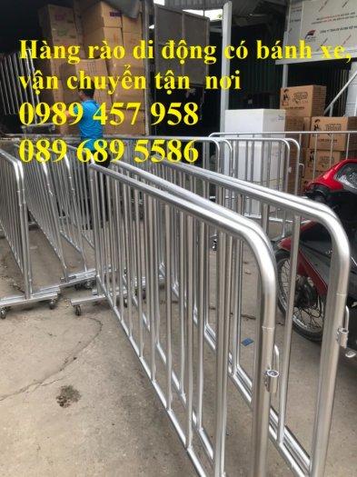 Sản xuất hàng rào di động - hàng rào chắn an ninh - Rào chắn cây xăng6