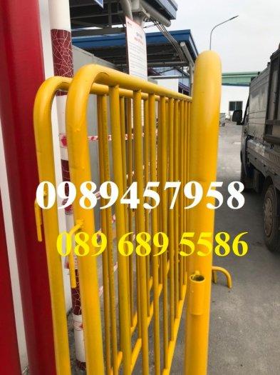 Sản xuất hàng rào di động - hàng rào chắn an ninh - Rào chắn cây xăng4