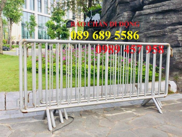 Sản xuất hàng rào di động - hàng rào chắn an ninh - Rào chắn cây xăng3