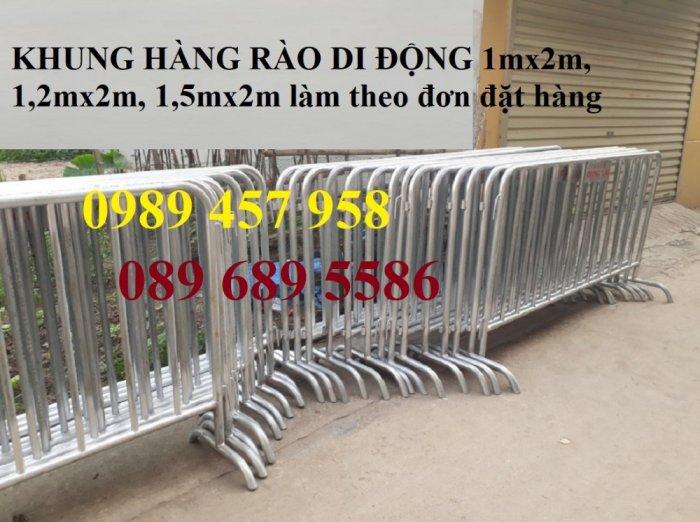 Sản xuất hàng rào di động - hàng rào chắn an ninh - Rào chắn cây xăng2