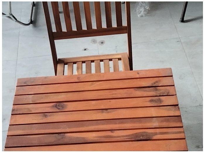 Bàn ghế cafe gỗ xếp cao giá sỉ tại xưởng2