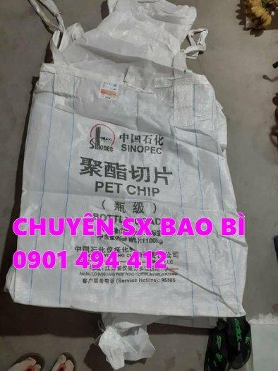 Bao Jumbo 1 tấn đựng lúa, cát, bắp ủ chua...2