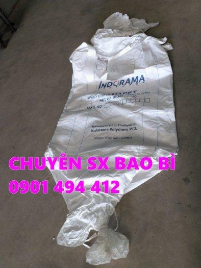 Bao Jumbo 1 tấn đựng lúa, cát, bắp ủ chua...1