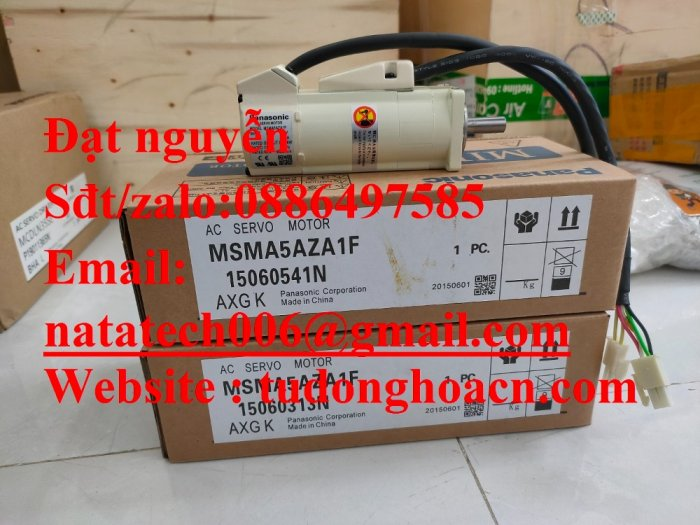 Động cơ AC MSMA5AZA1F panasonic giá tốt1