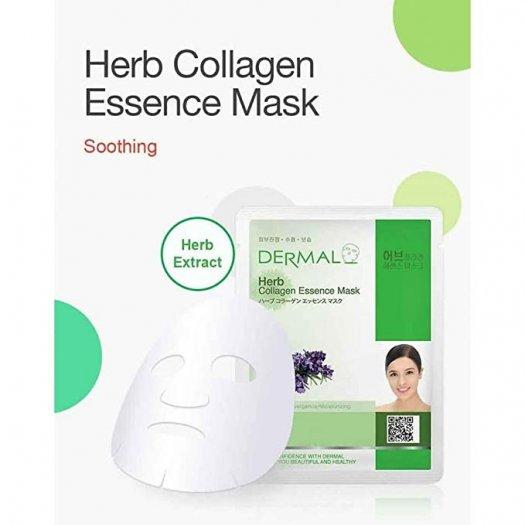 Mặt Nạ Dermal Tinh Chất Thảo Mộc Ngăn Ngừa Lão Hóa Da Herb Collagen Essence Mask 23g - 10 Miếng2