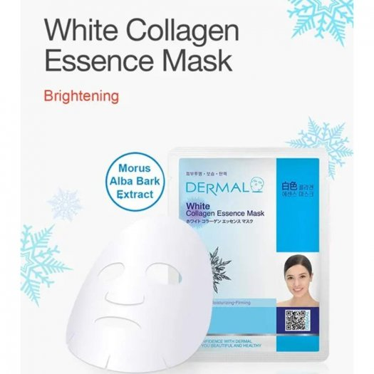 Mặt Nạ Dermal Tinh Chất Trắng Da White Collagen Essence Mask 23g - 10 Miếng3