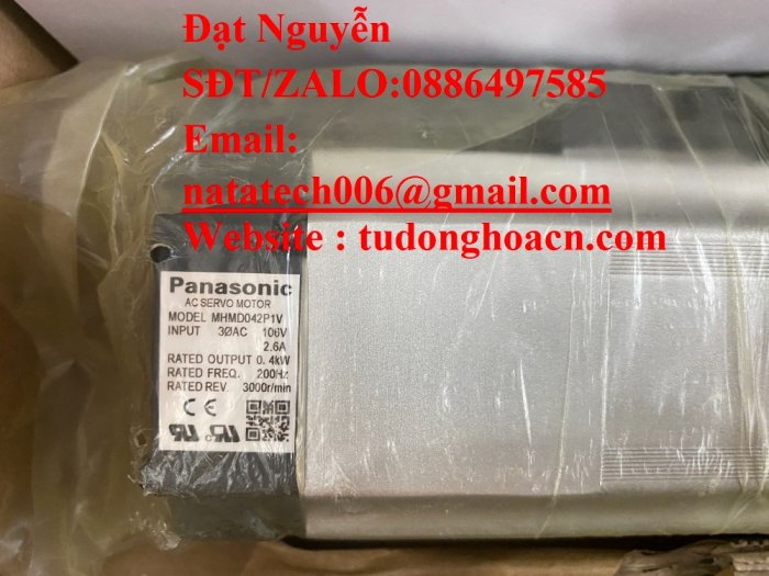 Động cơ AC MSMD082P1T panasonic - CTY NATATECH2