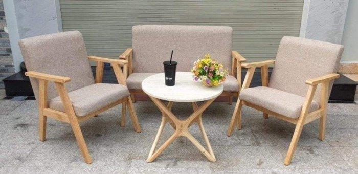 Bộ bàn ghế sofa cao cấp giá tại xưỡng Ak0050