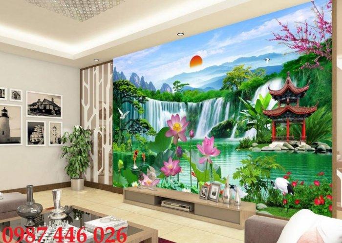 Gạch tranh dán tường đẹp 3d HP529017