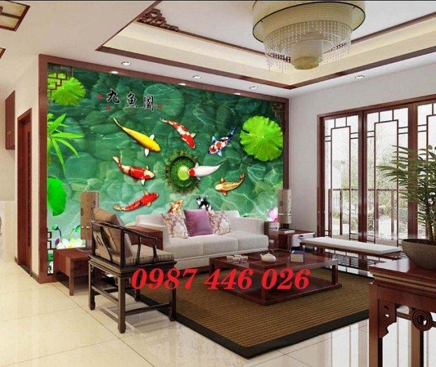 Gạch tranh dán tường đẹp 3d HP529015