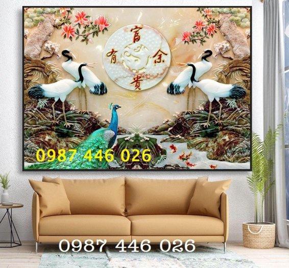 Gạch tranh dán tường đẹp 3d HP529013