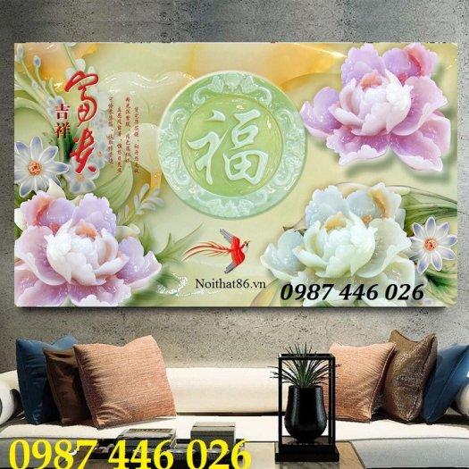 Gạch tranh dán tường đẹp 3d HP529012