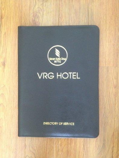 Menu da, bìa da nhà hàng khách sạn, giá tại xưởng không qua trung gian8