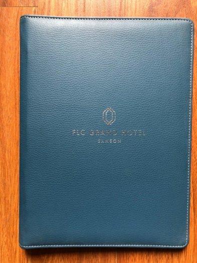Menu da, bìa da nhà hàng khách sạn, giá tại xưởng không qua trung gian4
