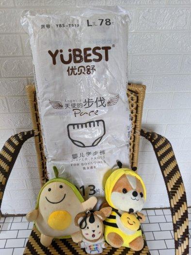 Bỉm YUBEST Angel ( XL QUẦN )  nội địa Trung  dán / quần đủ size S90 M84, L78, XL72, XXL660