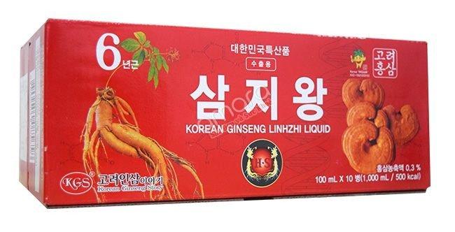 Nước hồng sâm linh chi Hàn Quốc1