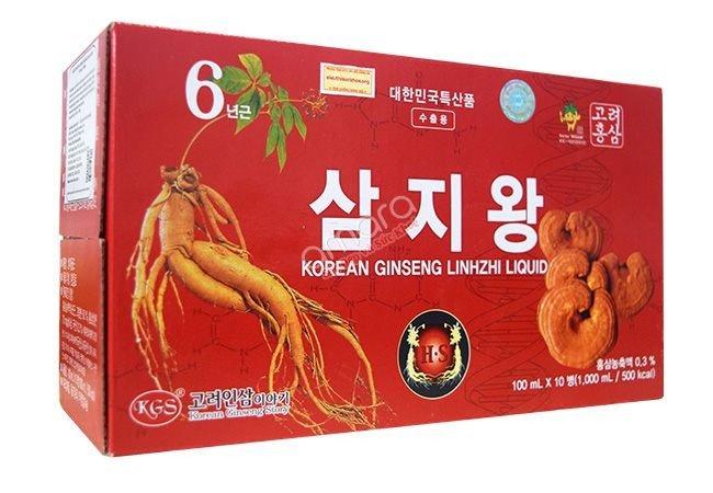 Nước hồng sâm linh chi Hàn Quốc0
