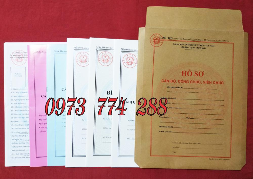 Bán bìa kẹp hồ sơ cán bộ nhân viên công chức - viên chức (Mẫu 01b-bnv/2019)4